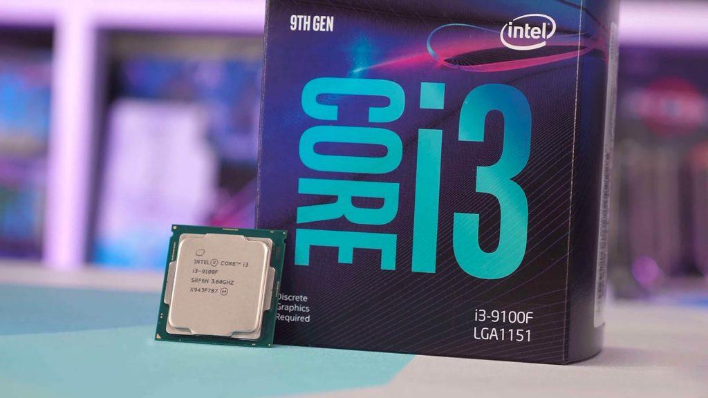 Intel core i3-9100f - راهنمای خرید بهترین سی پی یو های ارزان قیمت بازار