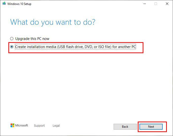 مراحل دانلود نسخه رسمی ویندوز 10