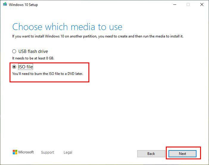 مراحل و نحوه دانلود ایمیج ویندوز 10 و نصب آن با فلش