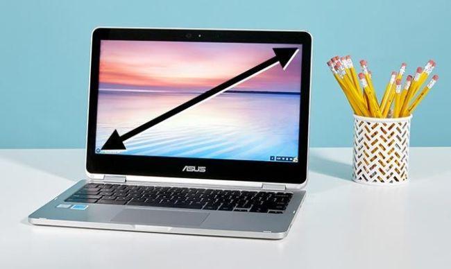 انداز و سایز نمایشگر لپ تاپ. انتخاب درست  آن