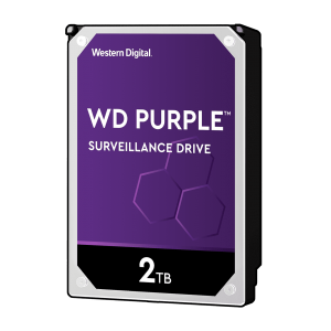 هارد دیسک اینترنال WD Purple Surveillance Hard Drive 2TB