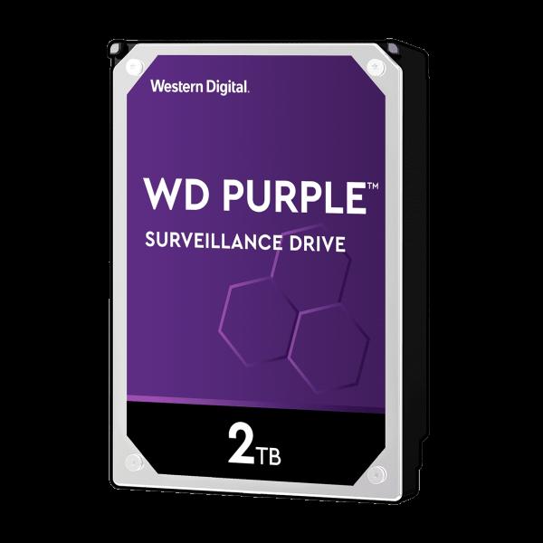 هارد دیسک اینترنال WD Purple Surveillance Hard Drive 2TB